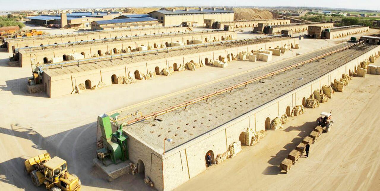 کارخانه آجر سفال اصفهان